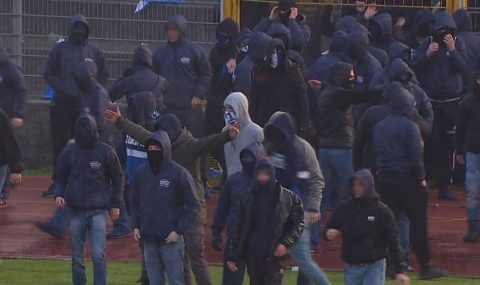 Trouble erupts after Lugano v Grasshoppers game