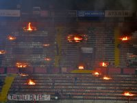 Eskisehirspor fans set fire to their own stadium after relegation