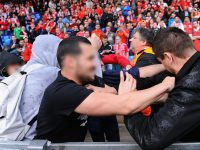 Liverpool and Sevilla fans brawl before Europa League final