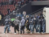 Zurich fans storm players' tunnel after relegation