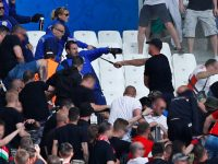 Hungary fans clash with police before Iceland game