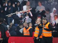 Copenhagen hools clash with police during Brondby game