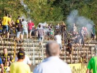 Trouble flares at Hebar Pazardzhik v Minyor Pernik match