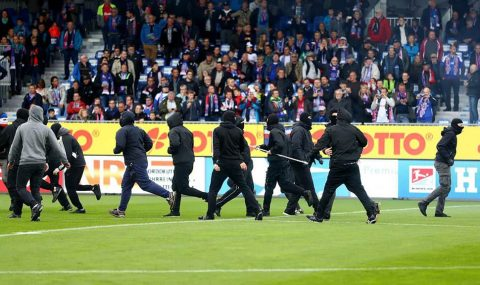 2. Bundesliga: Holstein Kiel hools try to attack St. Pauli end