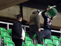 Trouble flares at GKS Tychy-Ruch game