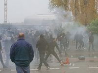 Valenciennes and Lens fans clash ahead of match
