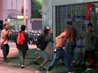 River Plate fans clash with police after Copa Libertadores win