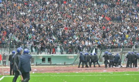 Riot breaks out at Algerian Cup match