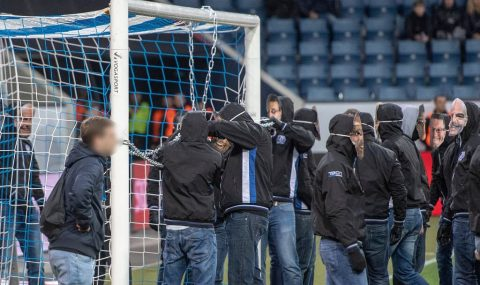 Luzern fans protest against early Swiss Cup kick-off time