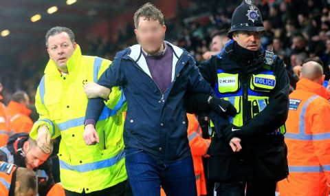 Newcastle fans arrested over pitch invasion during Bournemouth game