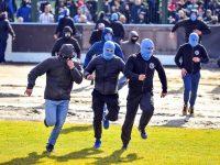Polish IV Liga match abandoned after pitch invasion