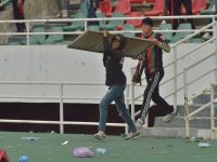 FAR Rabat fans clash with cops during RS Berkane match