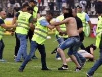 Steaua fans go on rampage following defeat to Carmen