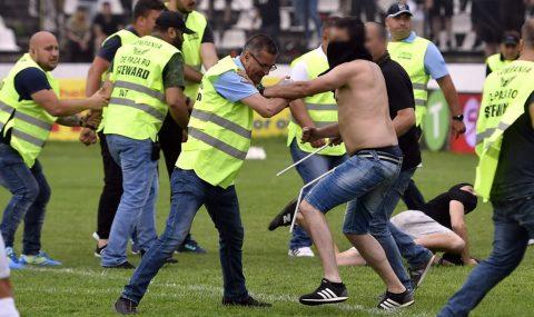 Steaua fans go on rampage following defeat to Carmen