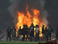 Persebaya fans riot following defeat to PSS Sleman