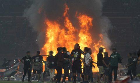 Persebaya fans riot following defeat to PSS Sleman