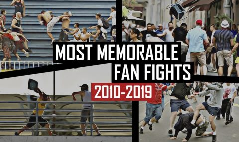 Most memorable fan fights of last decade