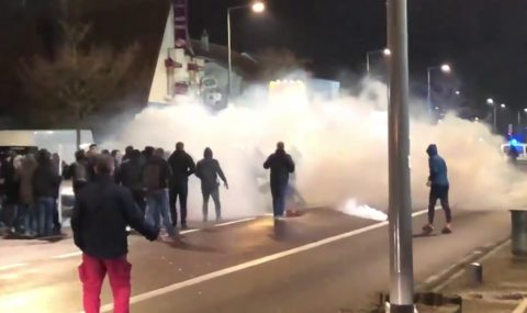Rouen and Metz fans clash before French Cup tie